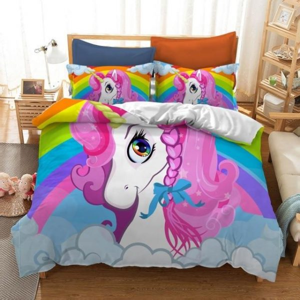 adornment of bed unicorn sleep divine as picture 1 had double 200x200 cm dish bed sheets at sell
