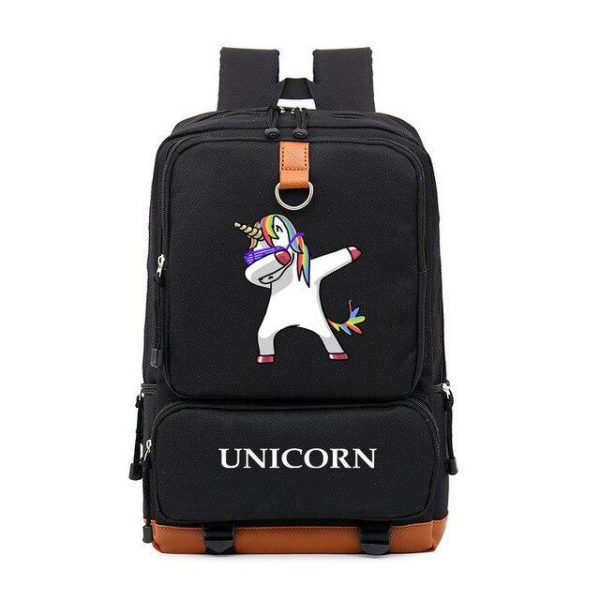 backpack unicorn black dab at sell