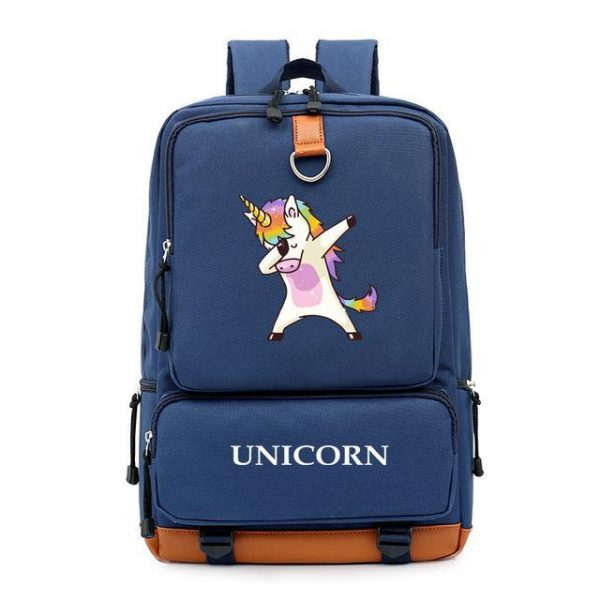 backpack unicorn blue marine dab at sell