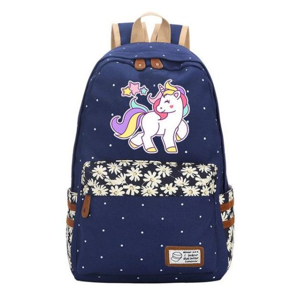 backpack unicorn blue marrin drawing price