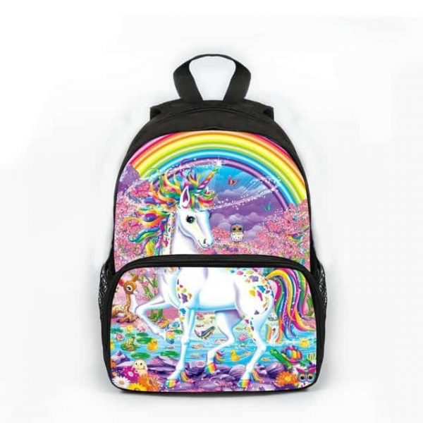 backpack unicorn bow in sky not dear