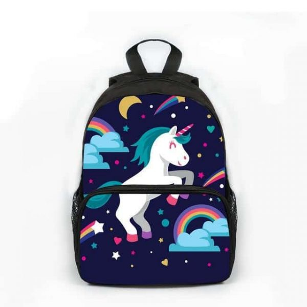backpack unicorn child at sell