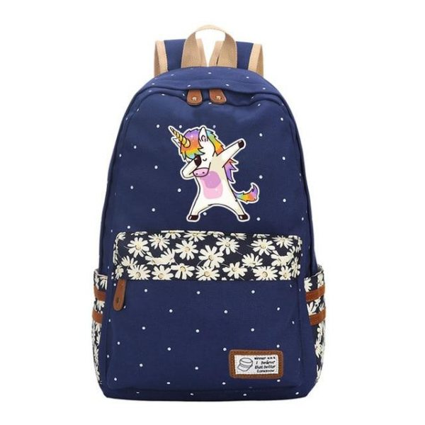 backpack unicorn dab