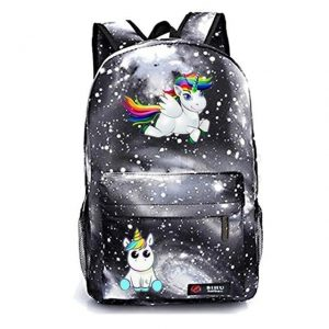 backpack unicorn darkness