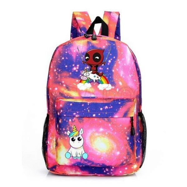 backpack unicorn deadpool