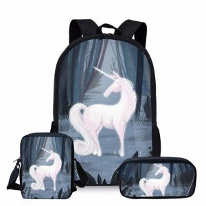 backpack unicorn forest dark at sell