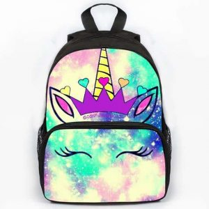 backpack unicorn galaxy at sell