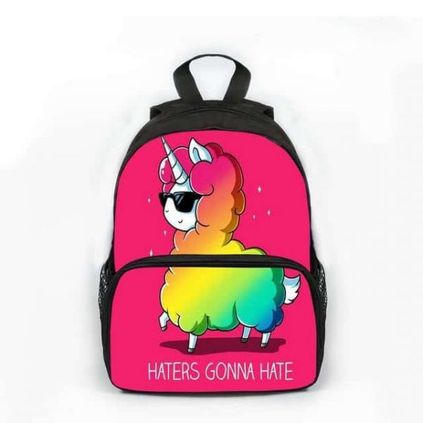 backpack unicorn llama bag and backpack unicorn