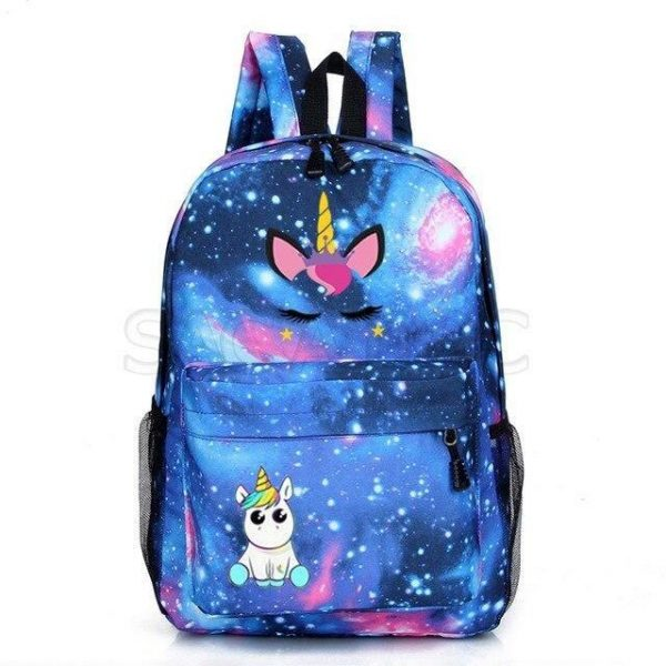 backpack unicorn mask at sell