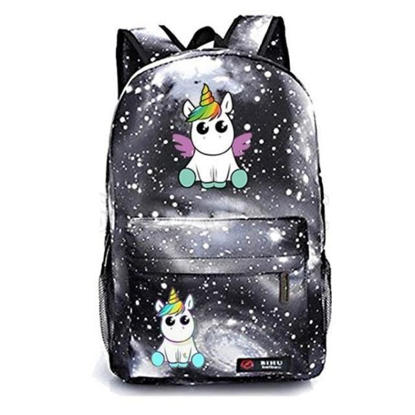 backpack unicorn past at sell