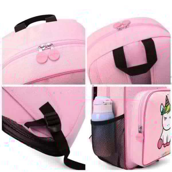 backpack unicorn primary pink not dear
