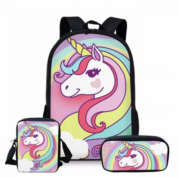 backpack unicorn quantine