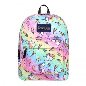 backpack unicorn scratches colored at sell