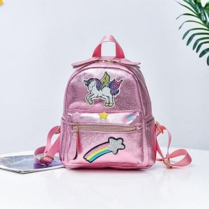 backpack unicorn star shooting pink buy