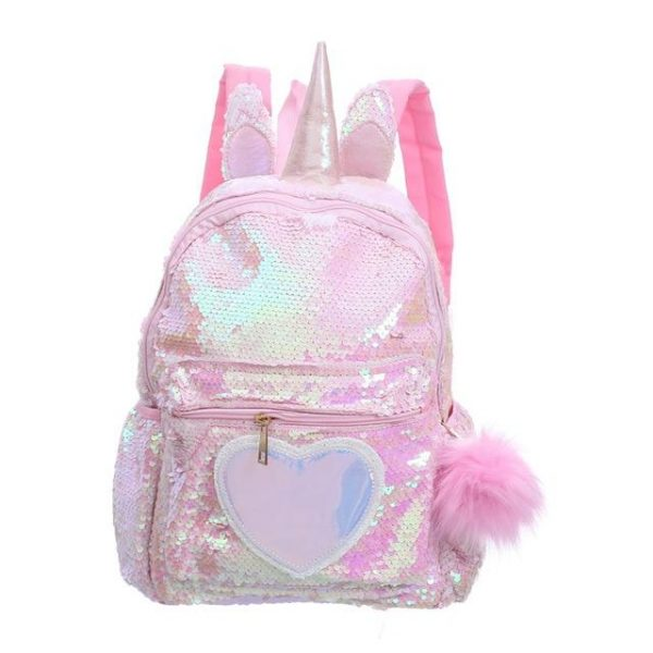 backpack unicorn with horn at sell