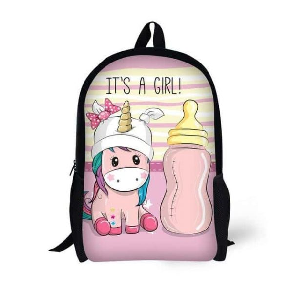 bag at back unicorn baby girl buy