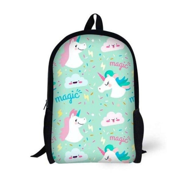 bag at back unicorn green unicorn backpack store