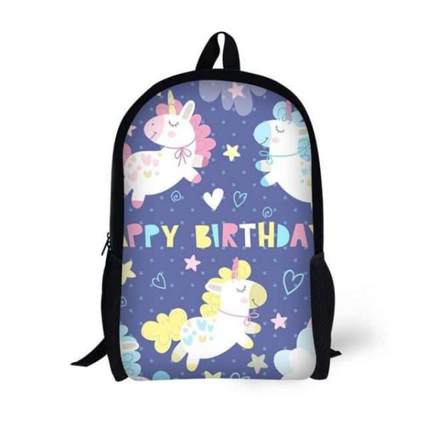 bag at back unicorn happy anniversary price