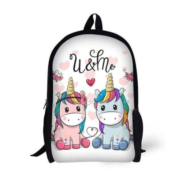 bag at back unicorn kawaii duo not dear