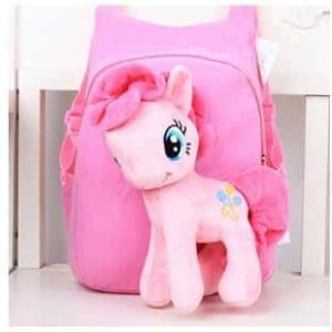 bag at back unicorn pink candy with plush at sell