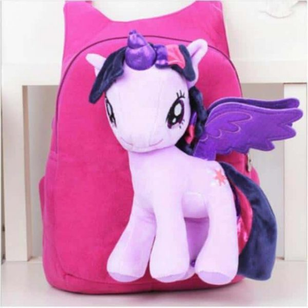 bag at back unicorn pink with plush price