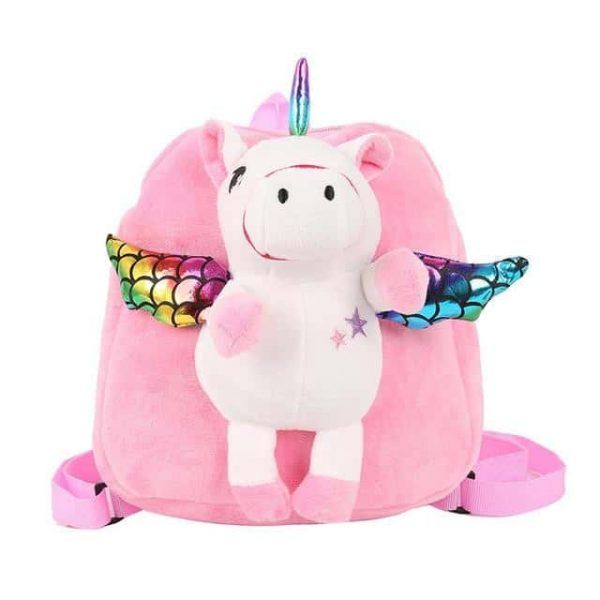 bag at back unicorn small girl pink not dear
