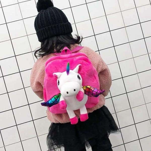 bag at back unicorn small girl pink unicorn backpack store