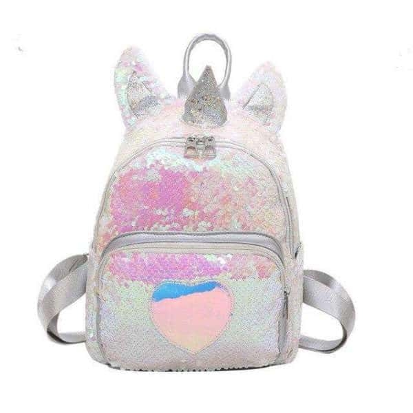 bag at back unicorn sparkling money not dear