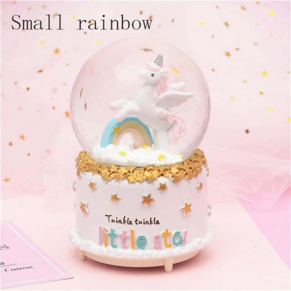 ball at snow unicorn musical tall bow in sky price