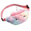 banana unicorn in fur blue and pink at sell