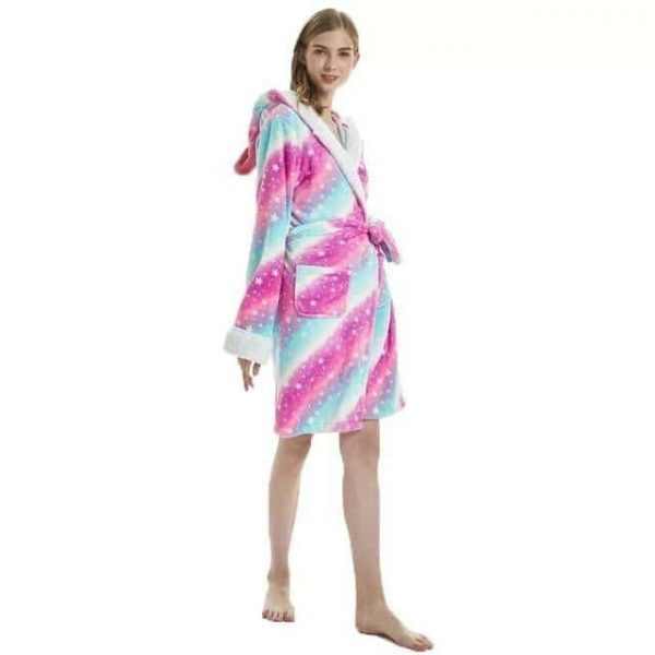 bathrobe unicorn adult of night l 165 180