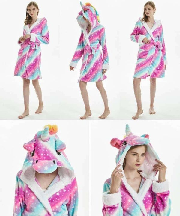 bathrobe unicorn adult of night l 165 180 no dear