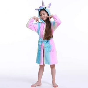 bathrobe unicorn child multi colors 11 not dear