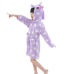 bathrobe unicorn child star 11