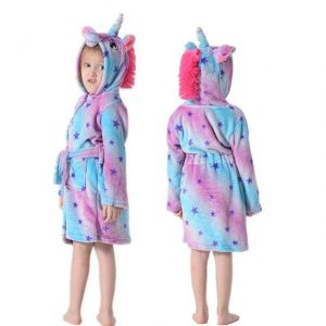 bathrobe unicorn girl night bow in sky 11.buy