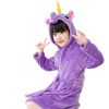 bathrobe unicorn girl purple 11 to sell