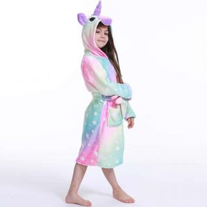 bathrobe unicorn multi colors star 11.buy