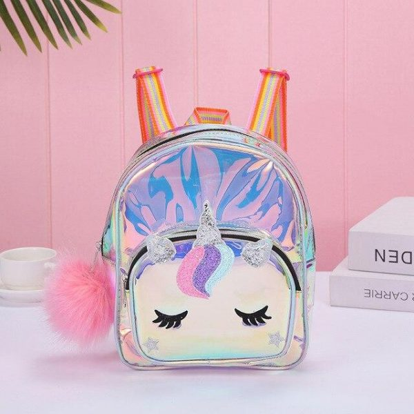binder unicorn pompom pink unicorn backpack store
