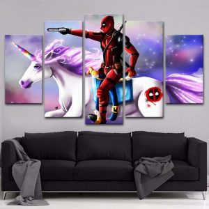 board unicorn dead pool 30x50 30x70 30x80cm without frame price