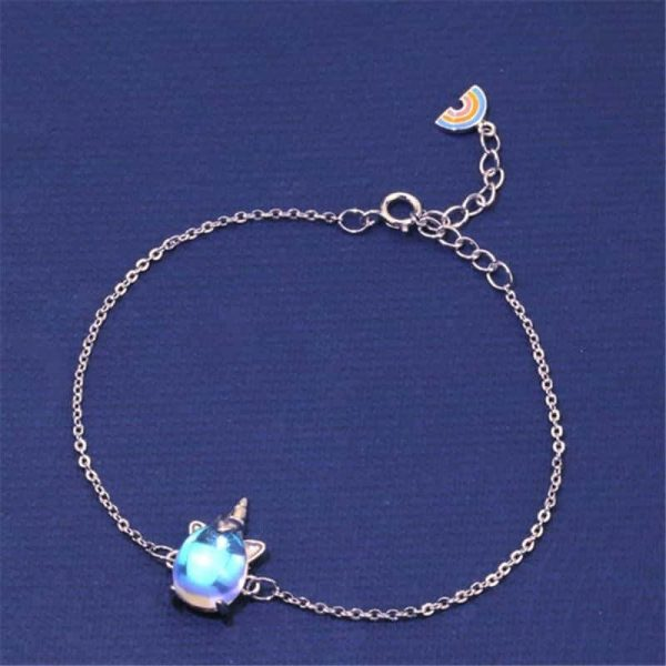 bracelet unicorn in money 925 no dear