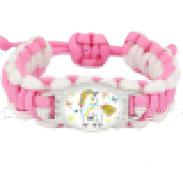 bracelet unicorn pink model 11 buy