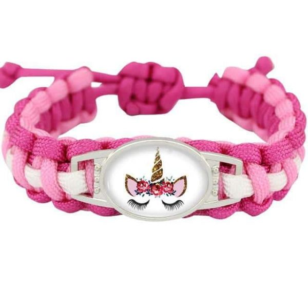 bracelet unicorn pink model 11 jewelry unicorn