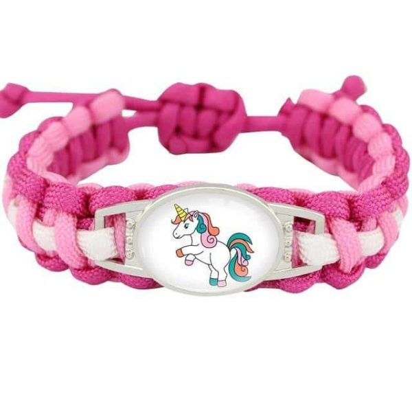 bracelet unicorn pink model 11 not dear