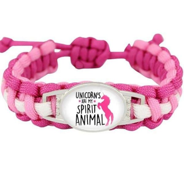 bracelet unicorn pink model 11 price