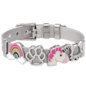 bracelet unicorn with charm magic