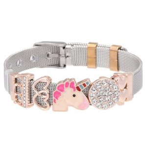 bracelet unicorn with charm money price