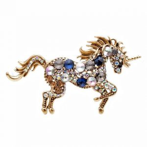 brooch unicorn gold brooch unicorn