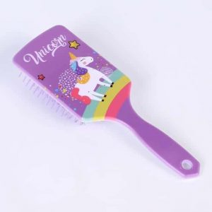 brush at hair unicorn purple girl at sell