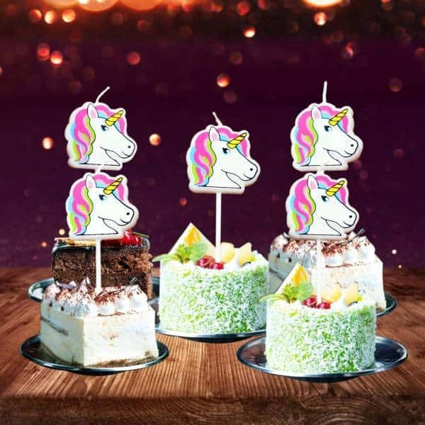 candle anniversary unicorn at sell