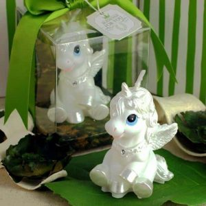 candle unicorn decoration white price